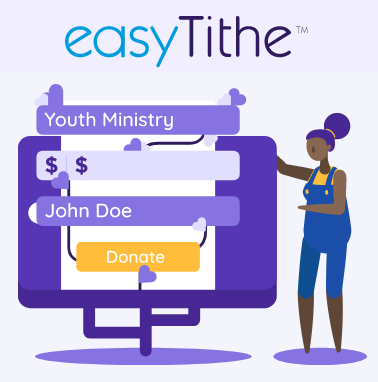 Image of EasyTithe online giving form